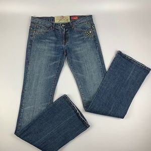 """7 for all mankind Jeans Women's 28 Bootcut 32""""L"""
